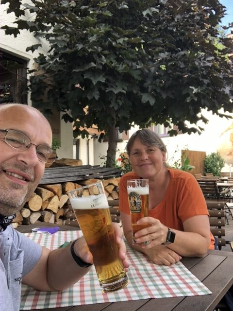 Gemütliches Einstimmen in Füssen
