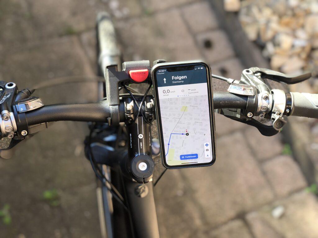 Viele Fahrradurlauber benutzen Navigagtionssysteme